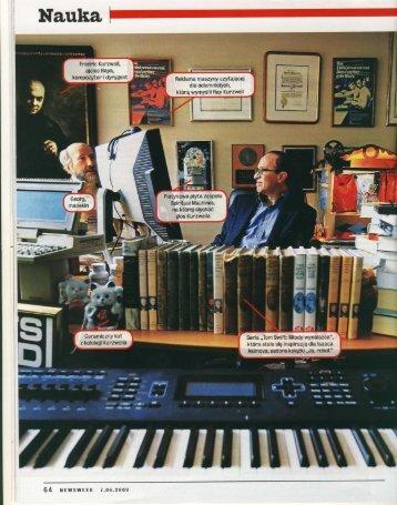 Ja, robot - Artykuł poświęcony Rayowi Kurzweilowi w ... - Music Info