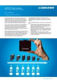 COFDM IP Mesh solutions