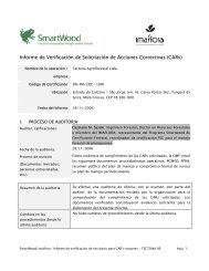 Informe de Verificación de Solicitación de Acciones Correctivas ...