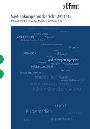 Download PDF - LfM-Publikationen - Landesanstalt für Medien ...