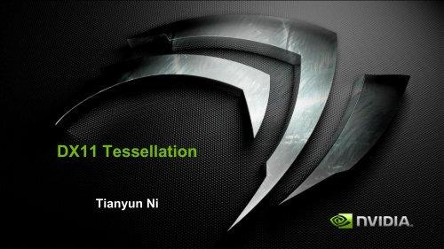 DX11 Tessellation - nVIDIA