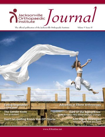 Journal - Jacksonville Orthopaedic Institute