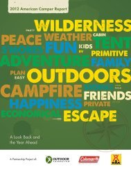 2012 American Camper Report - The Outdoor Foundation