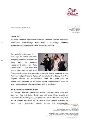pressetext zu code, trend 2011 deutsch (.pdf) - Haare.net