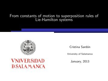 From constants of motion to superposition rules of Lie-Hamilton ...