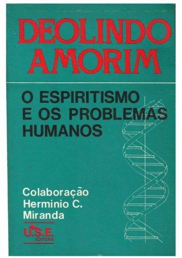 O Espiritismo e os problemas Humanos - Deolindo ... - ViaSantos