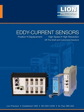 Eddy-Current Sensor Catalog - Lion Precision