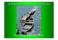 A Management Programme for Central Posavina - DANUBEPARKS