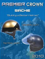 Download Premier Crown 2010 Catalog - Sirchie