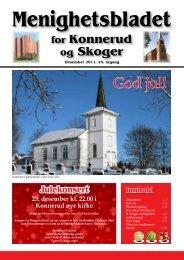 Menighetsbladet 04/11 - Den norske kirke i Drammen