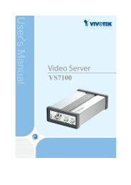 Initial Access to the Video Server - KOUKAAM, a.s.