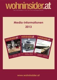 Media-Informationen 2013 - wohninsider