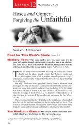 Hosea and Gomer: Forgiving the Unfaithful