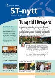 ST-nytt nr. 11, 2012 - Sykehuset Telemark