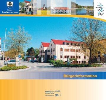 Bürgerinformation - Postbauer-Heng