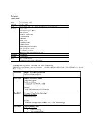 Referat styremøte - Arkitektur- og designhøgskolen i Oslo