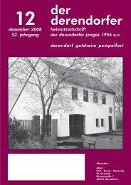 der derendorfer - heimatverein derendorfer jonges 1956 eV