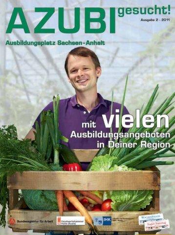 """Auf """"azubis.de"""" - Handwerkskammer Halle"""