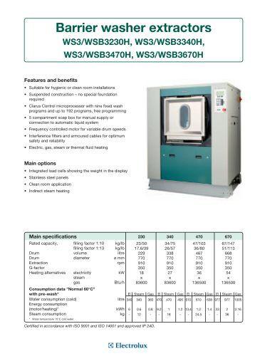 Barrier Washer Extractors Usa ~ D hooge open