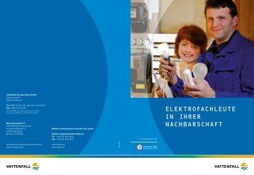 elektrofachleute in ihrer nachbarschaft - Elektro-Gemeinschaft ...