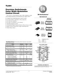 TL594 Precision Switchmode Pulse Width Modulation Control Circuit