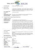 Biztonságtechnikai adatlap - Kerex-Óbuda Kft. - Page 3
