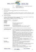 Biztonságtechnikai adatlap - Kerex-Óbuda Kft. - Page 5