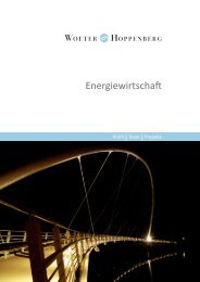 Energiewirtschaft - Wolter Hoppenberg