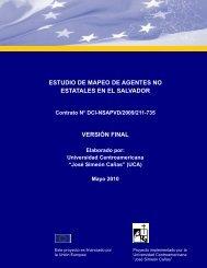 Universidad Centroamericana - Capacity4Dev - Europa