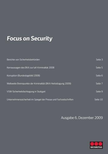 Focus on Security - Securitas