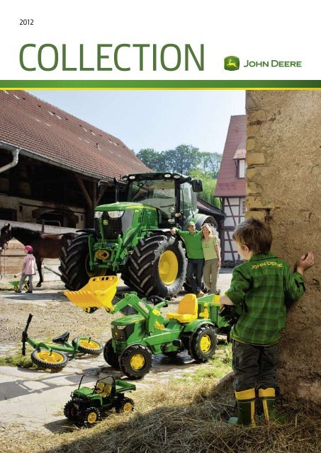 Authentic John Deere Boys Green//Blue Long Sleeve Front Loader Tractor T-Shirt