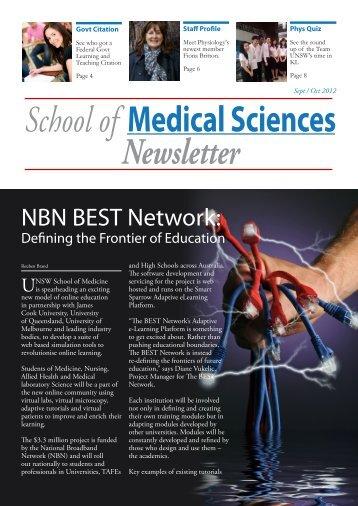 September/October 2012 - School of Medical Sciences