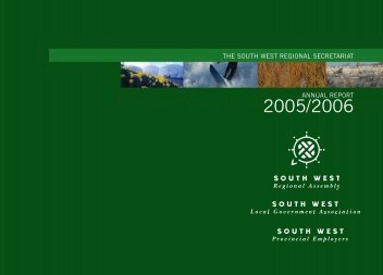 Annual Report 2005-2006 Large Print - PDF format - South West ...