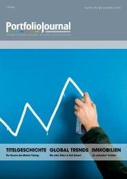 TiTelgeschichTe global Trends immobilien - PortfolioJournal