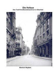 Die Hofaue - Geschichte einer Elberfelder Geschäftsstraße