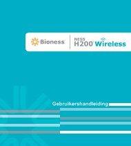 Gebruikershandleiding - Bioness Inc.