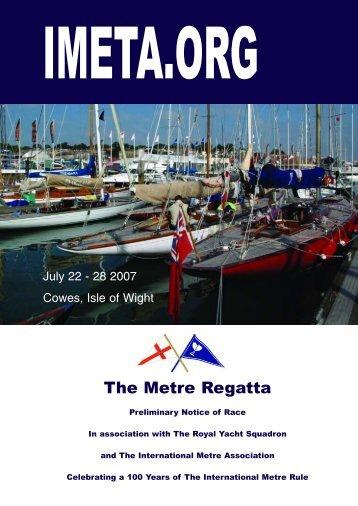 The Metre Regatta