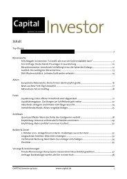 CAPITAL Investor 39/2010