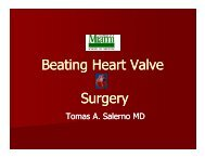 Beating Heart Valve Surgery - Sha-conferences.com