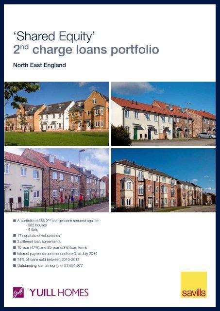 Yuill Homes, Shared Equity Portfolio - Savills