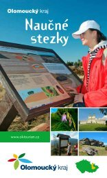 Naučné stezky - Olomoucký kraj