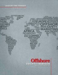 2013 Media Kit - Offshore Magazine