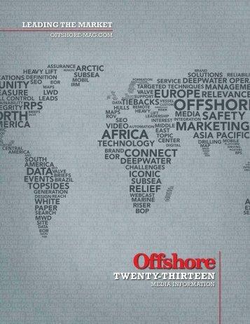 2013 Media Kit - Offshore Magazine