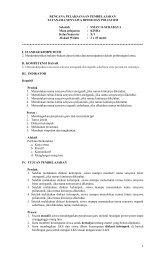 rencana pelaksanaan pembelajaran tatanama ... - Guru Indonesia