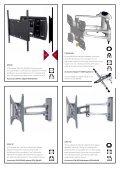 TV wall brackets Page 2–7 Speaker and projector stands Page 8–11 ... - Page 6