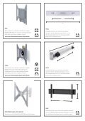 TV wall brackets Page 2–7 Speaker and projector stands Page 8–11 ... - Page 7
