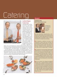 Catering - bei Messe & Event