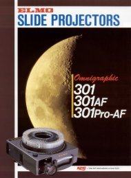 Brochure Omni 301/301AF - Elmo