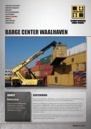 Barge Center Waalhaven PDF