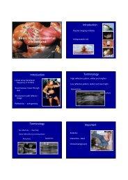 Basic Musculoskeletal Ultrasound - ISRRT